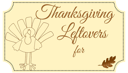 Personalized Leftovers Label
