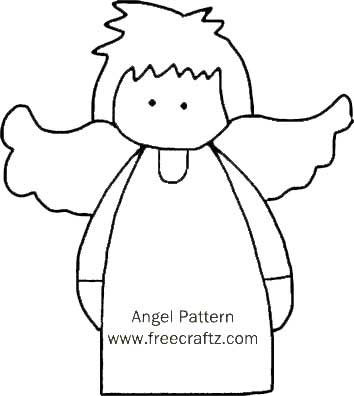 Angel Pattern Make An Angel Christmas Ornament Enchanting Angel Pattern