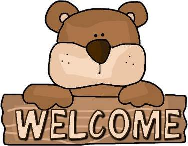 Welcome Bear Clipart